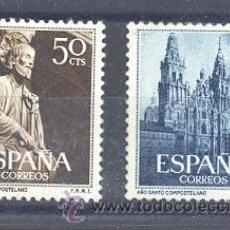 Sellos: ESPAÑA SEGUNDO CENTENARIO SERIES Nº 1130/31 ** AÑO SANTO COMPOSTELANO.. Lote 42853140