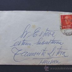 Sellos: CARTA CIRCULADA DESDE CAMPORRELLS A TAMARITE DE LITERA / HUESCA 1964. Lote 43149318