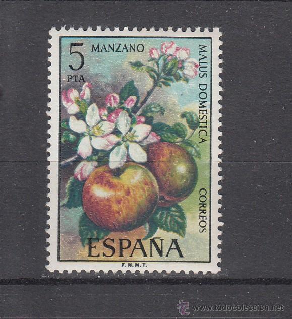 ESPAÑA 2258 SIN CHARNELA, FLORA, MANZANO, (Sellos - España - II Centenario De 1.950 a 1.975 - Nuevos)