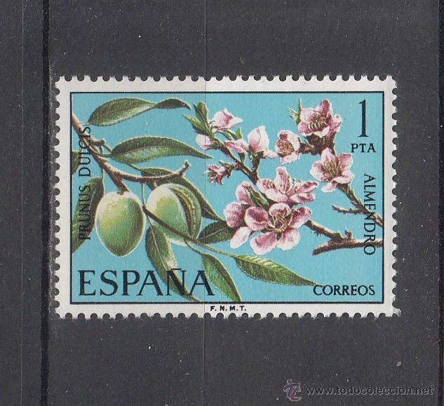 ESPAÑA 2254 SIN CHARNELA, FLORA, ALMENDRO, (Sellos - España - II Centenario De 1.950 a 1.975 - Nuevos)