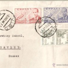 Sellos: LOTE A-SOBRE SELLOS DE LA CIERVA VIGO AÑO 1946. Lote 44040723