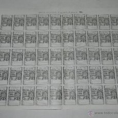 Sellos: (M-0) LAMINA PLANCHA - DERECHO OBVENCIONAL DE ADUANAS - 50 POLIZAS DE 50 PESETAS , BUEN ESTADO. Lote 44527576