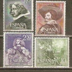 Sellos: ESPAÑA VELAZQUEZ EDIFIL NUM. 1340/3 ** SERIE COMPLETA SIN FIJASELLOS. Lote 44829218