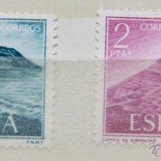 Sellos: ESPAÑA MNH AÑO 1969 EDIFIL 1933 - 1934 SPAIN E1969K2 GIBRALTAR. Lote 45053323