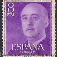 Sellos: EDIFIL 1162. GENERAL FRANCO. (1955-56).. Lote 45072936