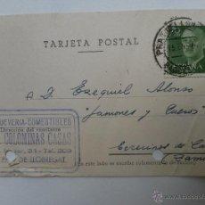Sellos: TARJETA POSTAL DE PRAT DE LLOBREGAT , BARCELONA 1962. Lote 45187217