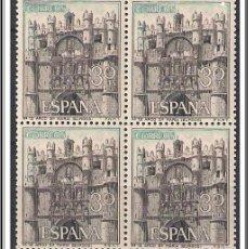 Sellos: SELLOS NUEVOS DE ESPAÑA BLOQUE DE 4 AÑO 1965 II TURISMO Nº 1644 EDIFIL . Lote 45400328