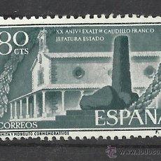 Sellos: EXALTACION FRANCO 1956 NUEVO** VALOR 2014 CATALOGO 7.-- EUROS SERIE COMPLETA. Lote 45967337