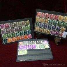 Sellos: LOTE DE 98 SELLOS VARIEDADES DE COLOR - FRANCISCO FRANCO-. Lote 46587145