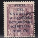 Sellos: ESPAÑA 1088 USADA, VISITA DEL CAUDILLO A CANARIAS, . Lote 157271144