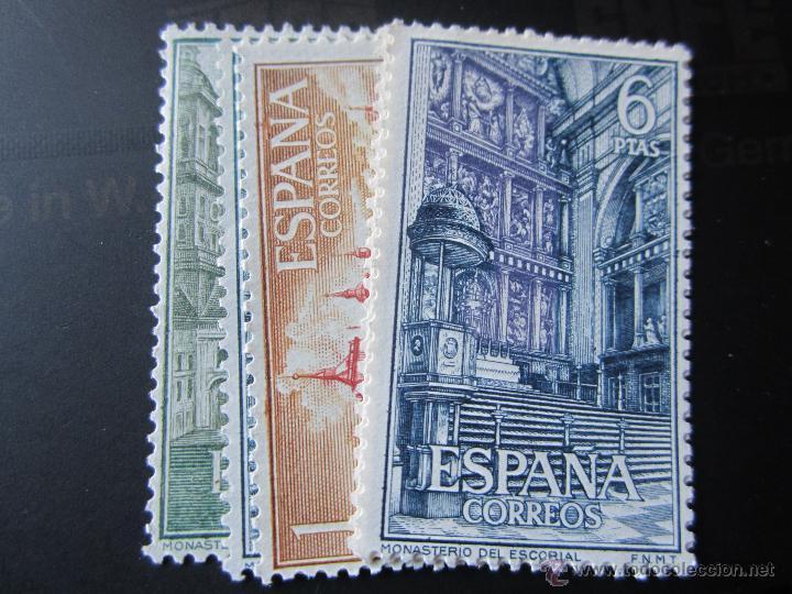 1961. MONASTERIO DE EL ESCORIAL. EDIFIL 1382/1387 (Sellos - España - II Centenario De 1.950 a 1.975 - Nuevos)