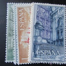 Sellos: 1961. MONASTERIO DE EL ESCORIAL. EDIFIL 1382/1387. Lote 47355585