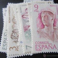 1974. Roma - Hispania. Edifil 2184/91