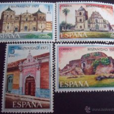 Sellos: ESPAÑA 1973 EDIFIL 2154/7 HISPANIDAD II - NICARAGUA. Lote 47423183