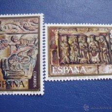 Sellos: ESPAÑA 1973 EDIFIL 2162/3 NAVIDAD. Lote 47425436