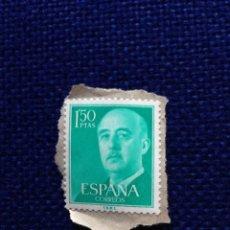 Sellos: SELLO FRANCO 1,50 PESETAS CORREOS PEGADO. Lote 48372557