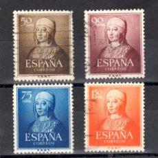 Timbres: ED. 1092/95 DE ESPAÑA, USADOS. Lote 48453904