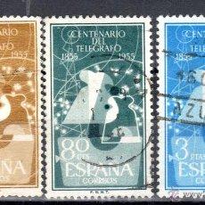 Sellos: ED. 1180/82 DE ESPAÑA, USADOS. Lote 48453948