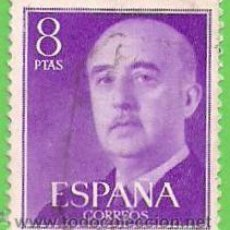 Sellos: EDIFIL 1162. GENERAL FRANCO. (1955-56).. Lote 48466637