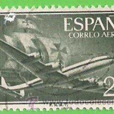 Sellos: EDIFIL 1169. SUPERCONSTELLATION Y NAO ''SANTA MARÍA''. (1955-56).. Lote 48560105