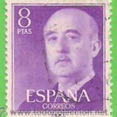 Sellos: EDIFIL 1162. GENERAL FRANCO. (1955-56).. Lote 48561545