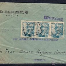 Sellos: CARTA CERTIFICADA EL 31-5-1950. B.H.A.. Lote 48618023