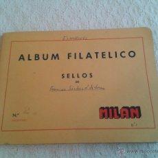 Sellos: ALBUM FILATELICO DE SELLOS MILAN Nº 2 SELLOS ESPAÑOLES ALREDEDOR DE 330 DE LOS AÑOS 50-60. Lote 48768432