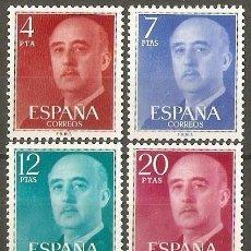 Sellos: ESPAÑA GENERAL FRANCO EDIFIL NUM. 2225/8 ** SERIE COMPLETA SIN FIJASELLOS. Lote 150453478