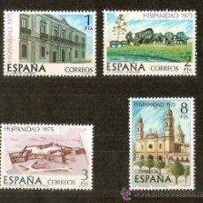Sellos: ESPAÑA HISPANIDAD URUGUAY EDIFIL NUM. 2293/6 ** SERIE COMPLETA SIN FIJASELLOS. Lote 237166730