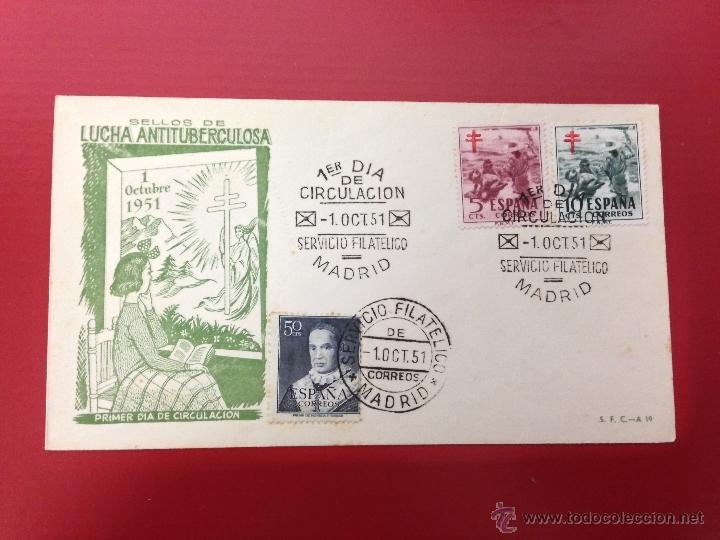 CARTA SPD 1951 MADRID (Sellos - España - II Centenario De 1.950 a 1.975 - Cartas)