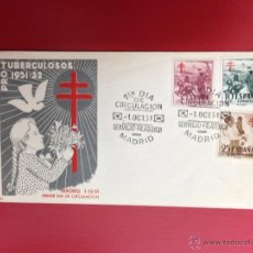 Sellos: CARTA SPD 1951 PROTUBERCULOSOS. Lote 49886281