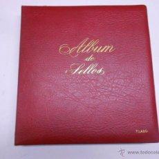 Sellos: ALBUM DE SELLOS FILABO.EDIFIL.620 SELLOS EN 63 HOJAS.SIMIL PIEL ACOLCHADA EDITORIAL.PERFECTO ESTADO. Lote 50496999