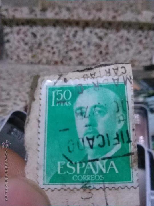 SELLO FRANCO, 1,50 PESETAS (Sellos - España - II Centenario De 1.950 a 1.975 - Usados)