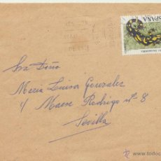 Sellos: CARTA DE SEVILLA A SEVILLA DEL 30 NOVIEMBRE DE 1965.. Lote 52636870