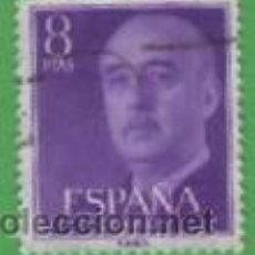 Sellos: EDIFIL 1162. GENERAL FRANCO. (1955-56).. Lote 53107300
