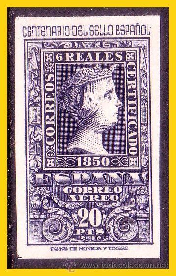 1950 CENTENARIO DEL SELLO ESPAÑOL, EDIFIL Nº 1081 * (Sellos - España - II Centenario De 1.950 a 1.975 - Nuevos)