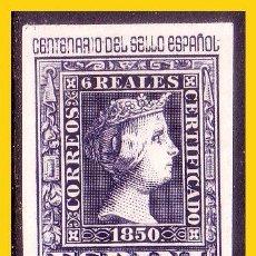 Sellos: 1950 CENTENARIO DEL SELLO ESPAÑOL, EDIFIL Nº 1081 *. Lote 53118128