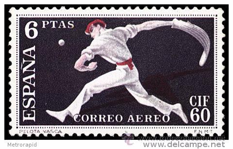 ESPAÑA AÑO 1960 EDIFIL 1288 * MH SELLO NUEVO CON FIJASELLOS - I CONGRESO INTERNACIONAL DE FILATELIA, (Sellos - España - II Centenario De 1.950 a 1.975 - Nuevos)