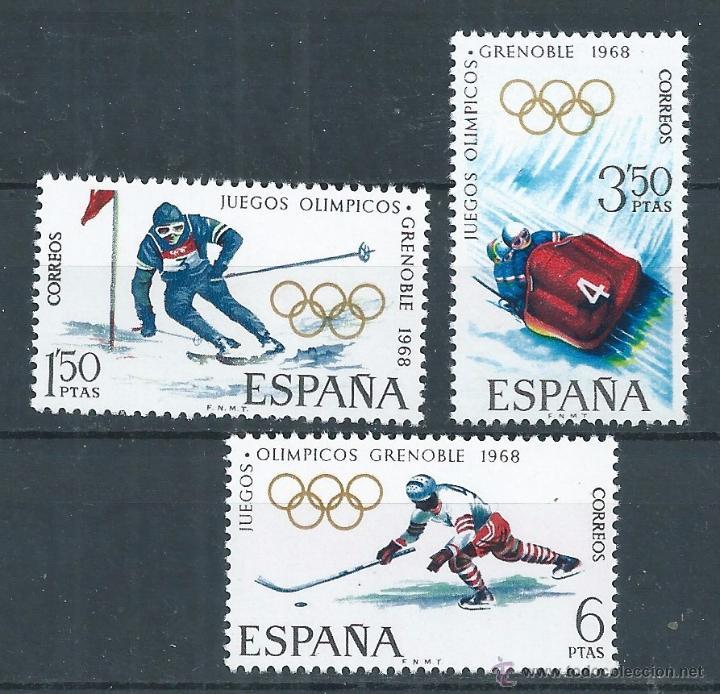 R6 Espana 1968 Edf 1851 53 X Juegos Olimpic Comprar Sellos