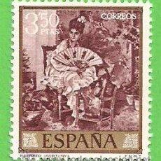 Sellos: EDIFIL 1861. MARIANO FORTUNY MARSAL - ''RETRATO''. (1968).** NUEVO SIN FIJASELLOS.. Lote 53732146
