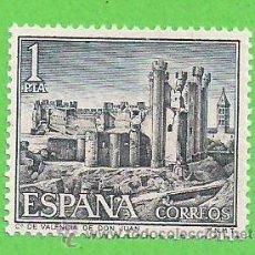Selos: EDIFIL 1977. CASTILLOS DE ESPAÑA - VALENCIA DE DON JUAN, LEÓN. (1970).** NUEVO SIN FIJASELLOS.. Lote 53790807