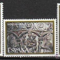 Sellos: EDIFIL 2217/9, NAVIDAD 1974, RENATO DE VALDABIA Y VALCOBERO (PALENCIA), NUEVO *** (SERIE COMPLETA). Lote 54321592