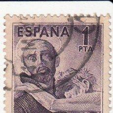 Sellos: EDIFIL Nº 1070. CENTENARIO 1950 SAN JUAN DE DIOS. MUY BIEN CENTRADO.. Lote 54450307