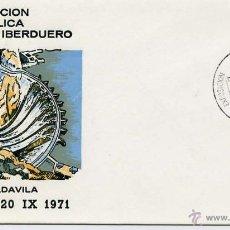 Sellos: SOBRE III EXPOSICIÓN FILATELICA GRUPO IBERDUERO BILBAO 17 SEPTIEMBRE 1971. Lote 54495340