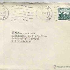 Sellos: SOBRE Y CARTA. MADRID. SEVILLA.11 DICIEMBRE DE 1958. RODILLA.. Lote 54561430