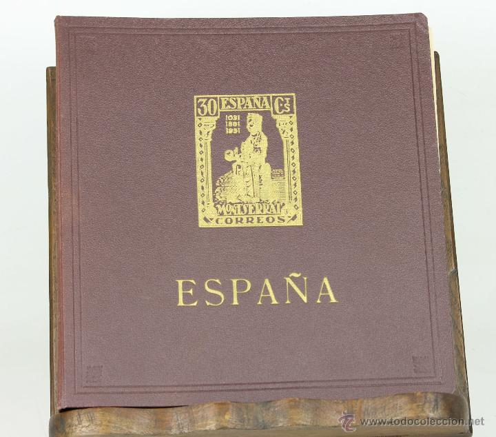 7197 - ÁLBUM DE SELLOS DEL II CENTENARIO. INCOMPLETO. ESPAÑA. 1951-1965. (Sellos - España - II Centenario De 1.950 a 1.975 - Nuevos)