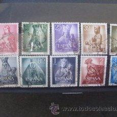 Briefmarken - ESPAÑA,1954,AÑO MARIANO,EDIFIL 1132-1141,COMPLETA,USADOS - 54912320