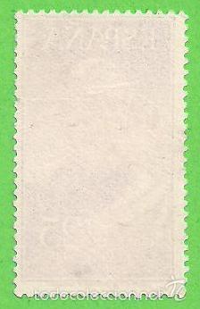 Sellos: EDIFIL 1124. MIGUEL LÓPEZ DE LEGAZPI - CORREO AÉREO. (1953). - Foto 2 - 55338274