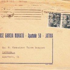 Sellos: SOBRE DE JOSÉ GARCIA MORATÓ DE XÀTIVA-JÁTIVA . Lote 55403040