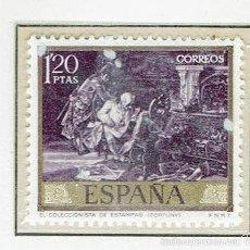 Sellos: MARIANO FORTUNY MARSAL. 1968. EDIFIL 1857.. Lote 55719330